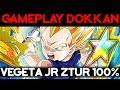Démonstration du Vegeta JR ZTUR ! - DOKKAN BATTLE