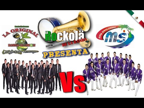 La Arrolladora Banda El Limon Vs Banda MS