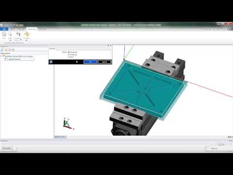 Fixture Avoid in Edgecam Workflow