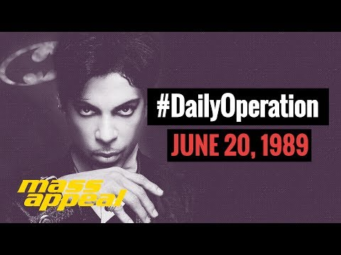 Daily Operation: Prince Releases 'Batman' (June 20, 1989)