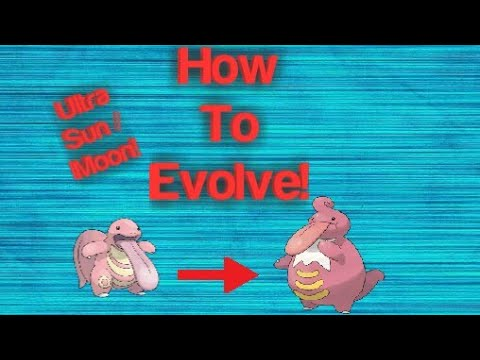 How To Evolve Lickitung Into Lickilicky On Pokémon USUM