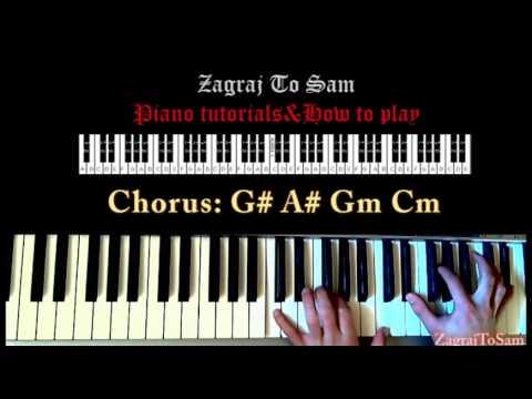 Titanium David Guetta Fta Jak Zagra Piano Tutorial