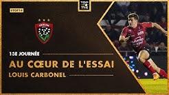 TOP 14 - Au cœur de l'essai 13e journée : Louis Carbonel (RC Toulon)