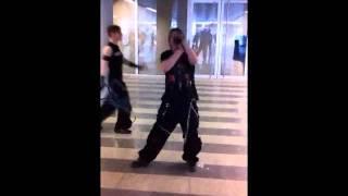 Industrial Dance beim Shuffle meet in Hannover.wmv