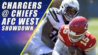 Chiefs vs. Chargers: AFC WEST Showdown