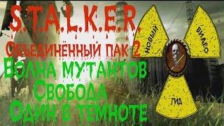 Сталкер ОП 2 Волна мутантов Свобода Один в темноте