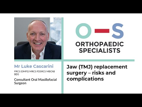 Jaw (TMJ) Replacement Surgery – Risks And Complications