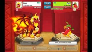 Dragon city Pure Fire Dragon