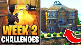 Fortnite Season 7 Week 2 - ALL Challenges GUIDE! How to Do Week 2 Challenges in Fortnite - Tutorial