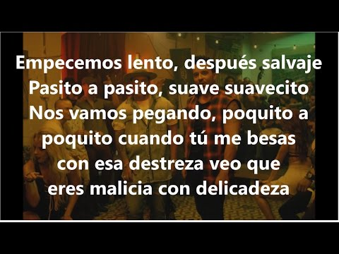 LETRA DESPACITO LUIS FONSI FT DADDY YANKEE lyrics