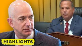 """Amazon drug"" addiction: Congress accuses Bezos of ruining business"