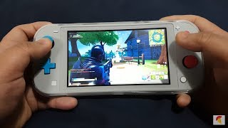 Fortnite Chapter 2 Solo Mode on Nintendo Switch Lite Zacian & Zamazenta Edition || Need a Thumb Grip