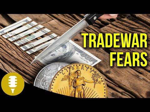 Gold & Silver 2018   DOW Falls   Trade War Fears   Golden Rule Radio