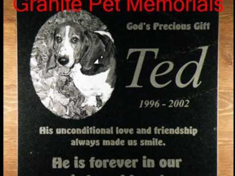 Pet Memorials- Edmonton,Alberta