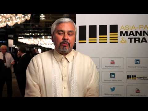 Speaker interview with Gerardo A Borromeo from Philippine Transmarine Carriers