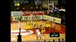 Walter Berry MVP Greek Cup 1999