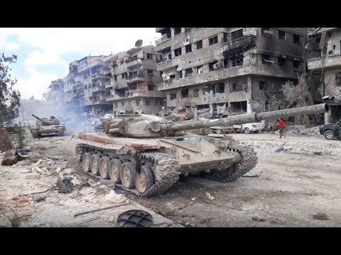 Battles for Syria  | May 15th 2018 | Images from the anti-ISIS operation in South Damascus
