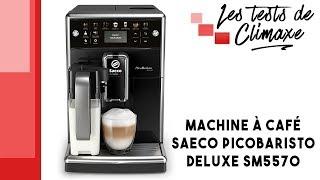 Revue rapide : Machine à café Saeco PicoBaristo Deluxe SM5570