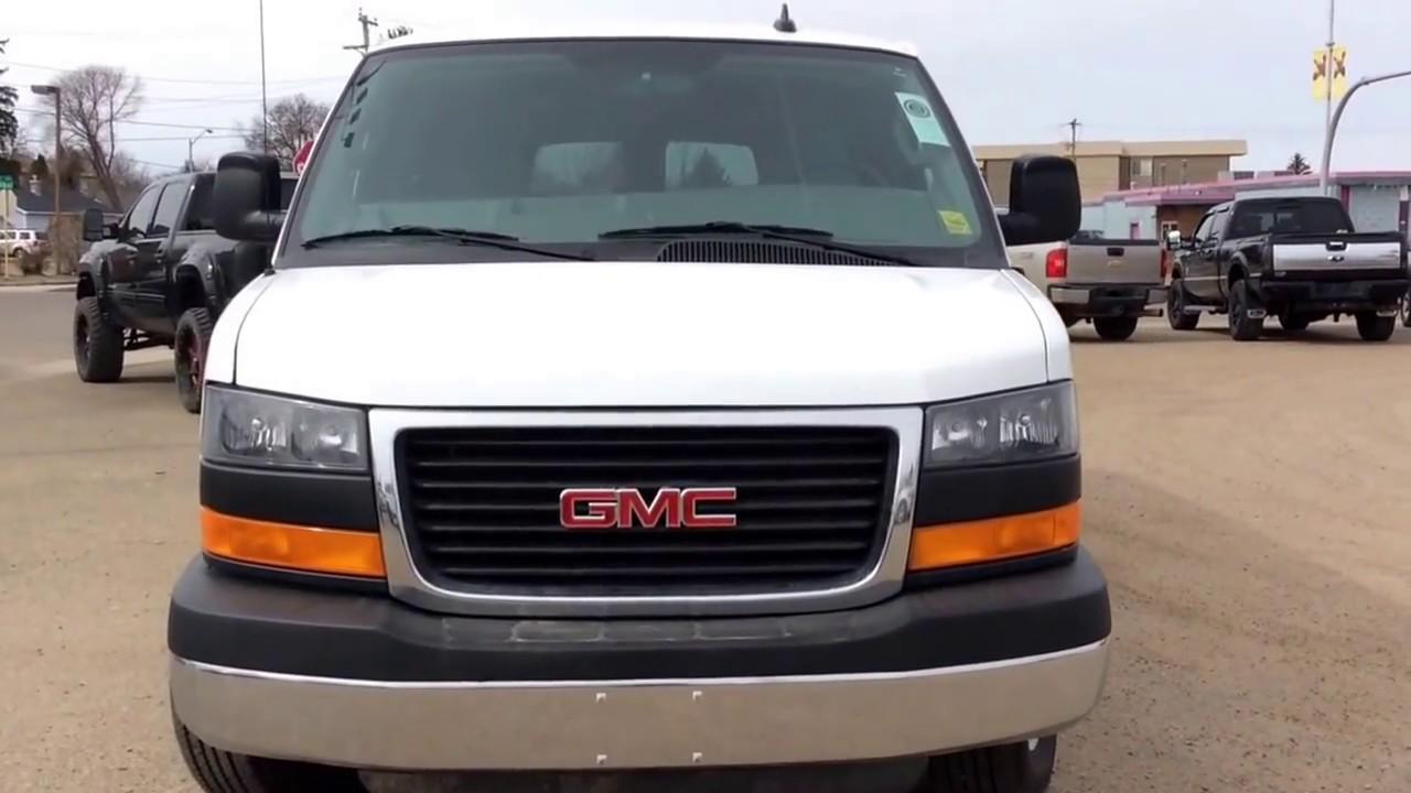 2016 gmc savana passenger van sle 3500 15 passenger seating hd trailering equipment and more. Black Bedroom Furniture Sets. Home Design Ideas
