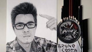 Desenhando o Youtuber Didi GPX - Clash of Clans l Clash Royale