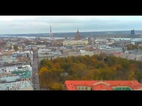 VIEW FROM Radisson Blu Hotel Latvia, Riga