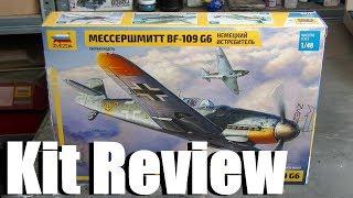 Kit review: Zvezda Messerschmitt Bf 109 G-6 in 1/48 scale