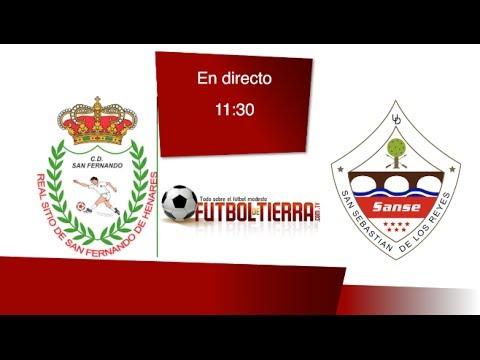 C.D San Fernando de Henares vs U.D San Sebastián de los Reyes