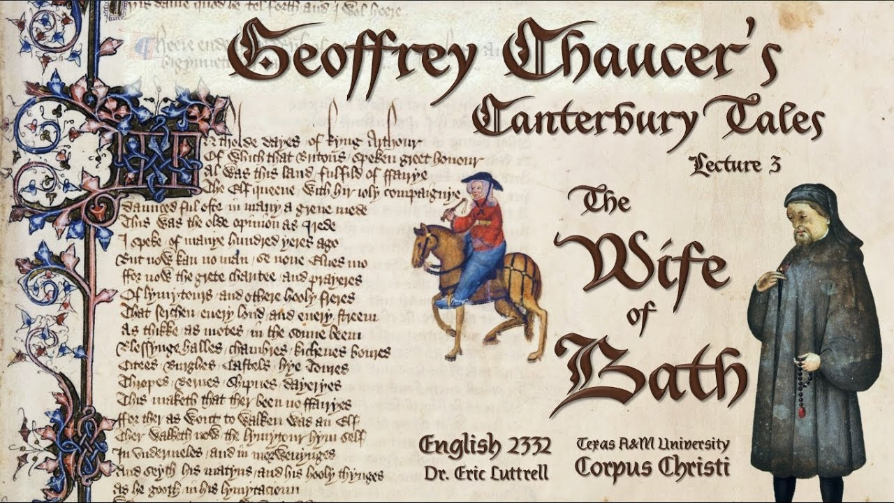 anti feminism in the poem the canterbury tales the wife of bath by geoffrey chaucer
