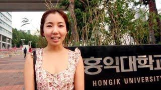 [Walk With Me] HONG IK UNIVERSITY (Seoul, Korea)