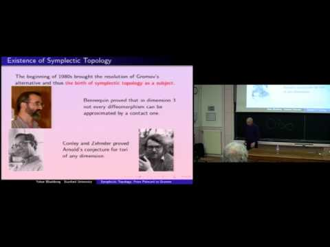 "Eliashberg Yakov ""Sympletic topology from Poincaré to Gromov"""