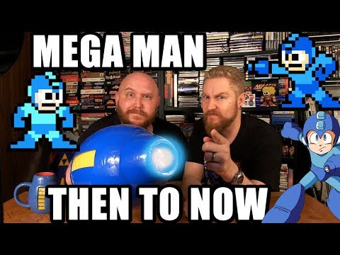 MEGA MAN THEN TO NOW - Happy Console Gamer