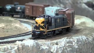Erie ALCO RS-3 - Bachmann EZ-DCC Sound On Board - Soundtraxx HO scale