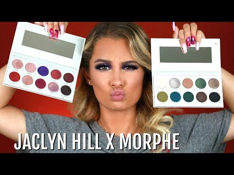 JACLYN HILL X MORPHE VAULT COLLECTION TUTORIAL