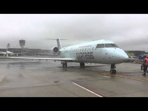 Air Canada Inaugural Flight to Washington Dulles International Airport