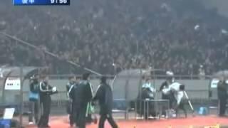 中国のラフプレーにも負けずに日本勝利!