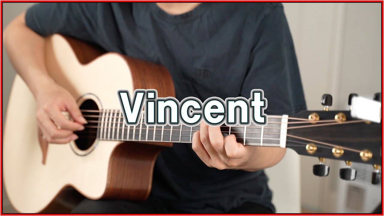 [TAB] Vincent - Don Mclean - Fingerstyle Guitar Solo