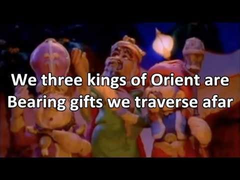 We Three Kings - Instrumental with Lyrics (no vocals)