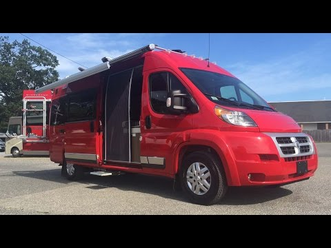 Brilliant Walk Through 2015 Roadtrek Zion RAM Promaster RV Conversion Camper Van | FunnyDog.TV