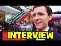 Tom Holland Spider-Man Interview - Captain America Civil War European Premiere
