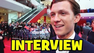 Tom Holland Spider-Man Interview At Captain America Civil War Premiere