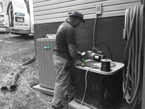 Modular Home: Install a split-system heat pump with duct mods