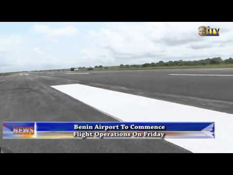 Benin airport to commence flight operations on Friday