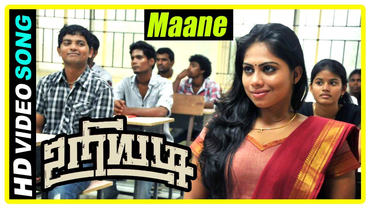 Uriyadi Tamil Movie Scenes Maane Song Vijay Kumar And Henna Fall