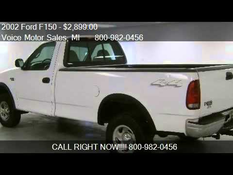 2002 ford f150 xl 4x4 for sale in kalkaska mi 49646 for Voice motors kalkaska michigan