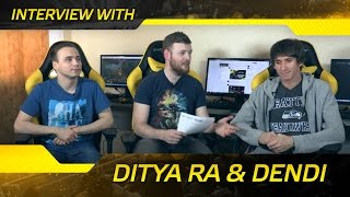 Interview with Ditya Ra & Dendi @ Bootcamp 2016 (ENG SUBS)