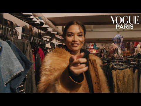 Shanina Shaik's 60 minute shopping challenge   Vogue Paris