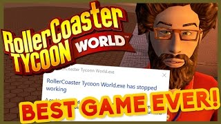 🍤 APRIL FOOLS 2017: ROLLER COASTER TYCOON WORLD! (Part 1 of 5000)