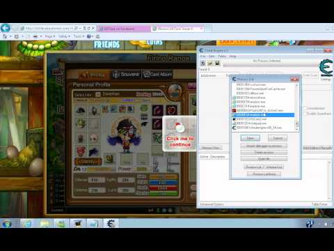 DDTANK Cheat Engine 6.1