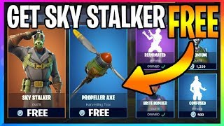 *NEW* How To Get The SKY STALKER Skin **FREE** (Fortnite Battle Royale) FREE VBUCKS