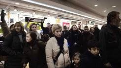Flash mob gospel au centre commercial Leclerc de Rueil-Malmaison